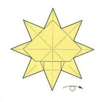 оригами солнце 30