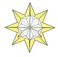 оригами солнце 31