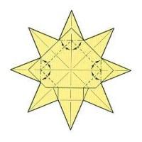 оригами солнце 33