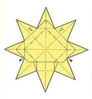 оригами солнце 34