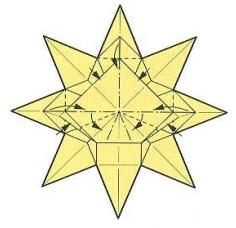 оригами солнце 35