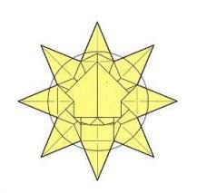 оригами солнце 36