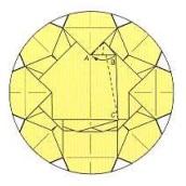 оригами солнце 38