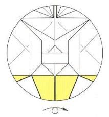 оригами солнце 43