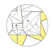 оригами солнце 47