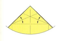 оригами солнце 6