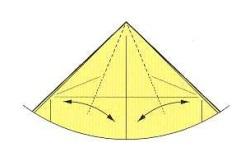 оригами солнце 7