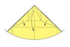 оригами солнце 8