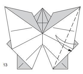 бабочка закладка 13