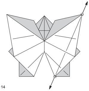 бабочка закладка 14