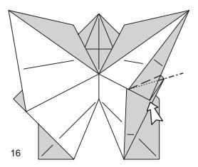 бабочка закладка 16