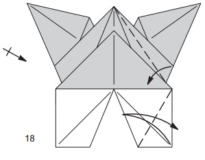 бабочка закладка 18