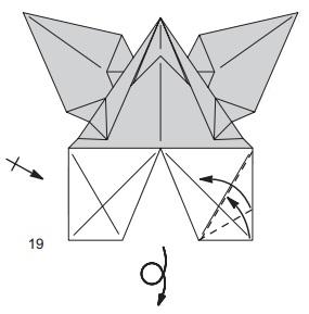 бабочка закладка 19