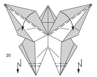 бабочка закладка 20
