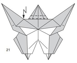 бабочка закладка 21