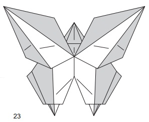 бабочка закладка 23