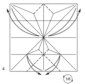 бабочка закладка 4